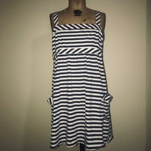 American Eagle Outfitters Summer Striped Dress LG
